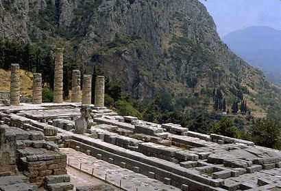 Oráculo de Delfos, Monte Parnaso, Grecia