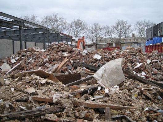 N12 Street Demolition