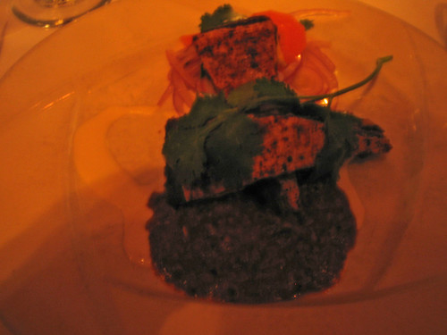 black bean torte