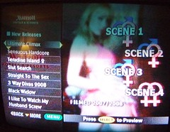 Screenshot of Pay TV in Mariott Fairfax