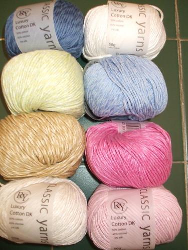 Rowan Luxury cotton DK