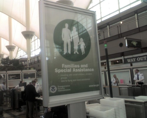 Families and Special Assistance Line at DEN