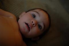 (UrbanDorothy) Tags: portrait baby elise expression daughter ellie shocked neutral