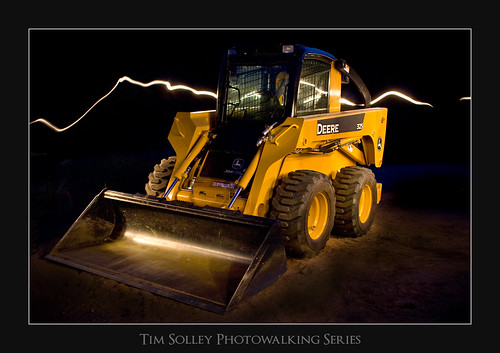 Deere In Flashlights