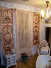salle de bains:rideaux et panneaux (bthierus) Tags: scale miniatures miniature doll château dollhouse châteaudescharmes maisondepoupées 112ème châteaudespoupées