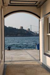 Kandilliden Urumelihisarna.. (Kerim K.) Tags: istanbul fsm deniz rumeli kpr duba boaz iskelesi rumelihisar kandilli 2kpr