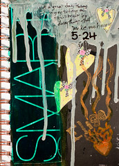 Page Two (mythlady/Elise Wormuth) Tags: art painting pages artjournal artjournalpages
