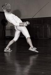 matt sprains his spine (the_sarah_mcmurray) Tags: chicago fencing redstar