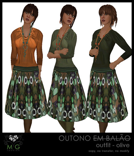 [MG fashion] Outono outfit - olive