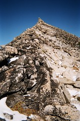 Hoodoo's summit ridge