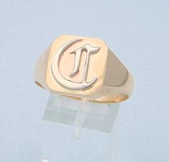 Calvin's signet ring