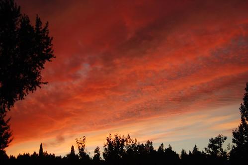 Post-hike sunset