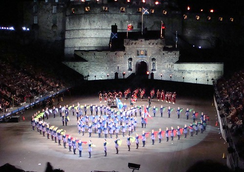 Despite the last Edinburgh Military Tattoo having finished less than three