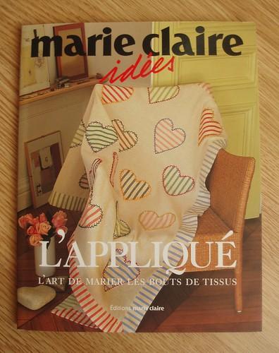 book; Marie Claire idées 'l'appliqué