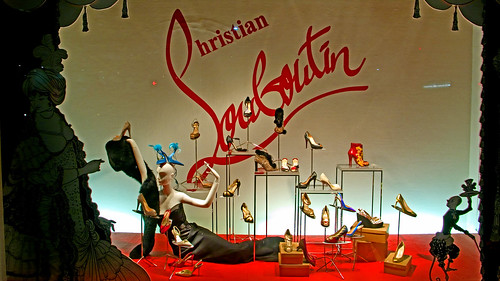 Christian Louboutin shoes in window photo 120 by Candid Photos