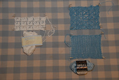 Upside-Down Sweater Swatching 2