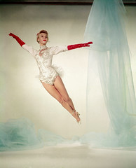 "Vera-Ellen, for ""White Christmas"" (carbonated) Tags: christmas xmas ladies vintage pinup"
