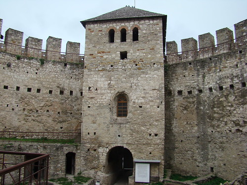 Soroca fortress. Gates tower