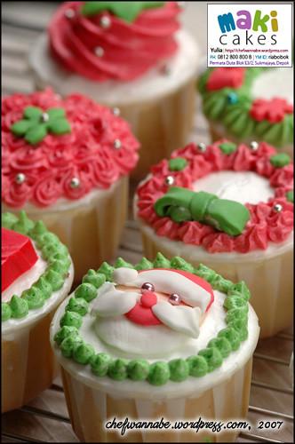 Christmas Cupcakes 2007 - Maki Cakes