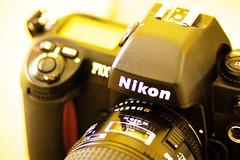 F100_Film (khai_nomore) Tags: slr photoshopped nikonf100 analogue filmcameras pentaxistdl digitalshot pentaxsmc135mmf28