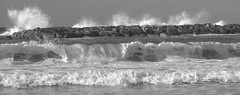 IMG_20071203_1781.CR2 (light_on_feet) Tags: sea blackandwhite waves windy
