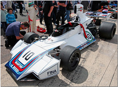 1975 Martini Brabham Ford BT44 F1. Silverstone Classic 2007.(Explore) (Antsphoto) Tags: shadow classic car race one march lotus july martini grand f1 racing historic explore prix stewart silverstone mclaren formula pace motor hunt motorsport 2007 cosworth tyrrell brabham motoracing fittipaldi flickrexplore bt44 hesketh dfv reuteman antsphoto anthonyfosh