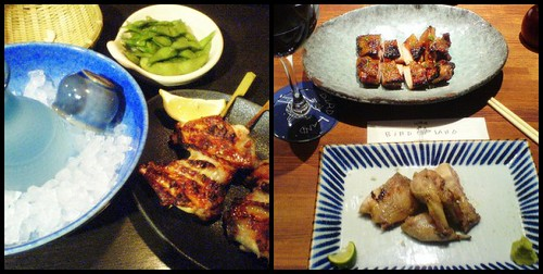 Izakaya: sake and yakitori