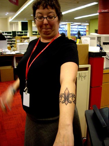 librarian tattoo