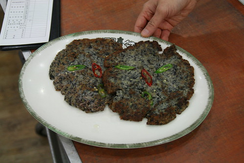 Black Soybean Curd Pancakes
