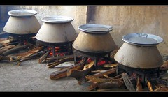 Degh Biryani for all!! (RajRem) Tags: birthday wood party chicken utensils cooking smile breakfast canon lunch fire ginger stand salad yummy big potatoes stainlesssteel flickr yum rice coconut cinnamon steel paste smoke traditional tomatoes border spice salt cream cook diner curry meat delicious spices cover ingredients copper garlic sweets onion taste goodtaste guest yogurt firewood mutton chutney lumber stainless topic masala method biryani raita foodcolor basmati basmatirice ghee muttonbiryani hyderabadi yogurtsauce 1mill degh diamondclassphotographer flickrdiamond academyofphotographyparadiso deghcooking deghs vegetablebiryani mangalbiryani
