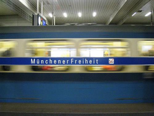 Rauchfrei Muenchener Freiheit picture photo bild