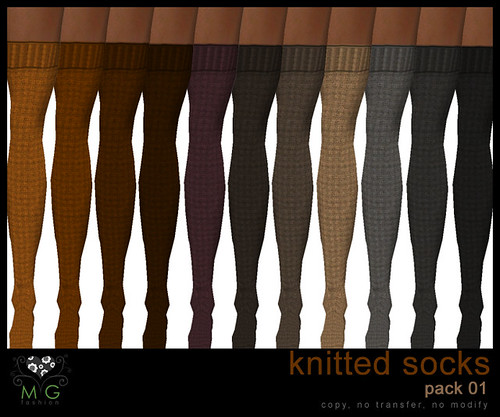 [MG fashion] Knitted socks (pack01)