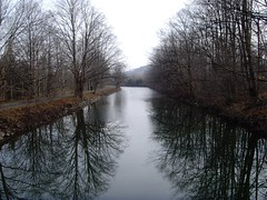 Erie Canal from the Green Lakes Bridge
