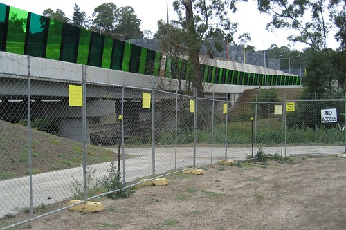 New path under EastLink in Ringwood