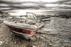 Sailing Memories (Khaled A.K) Tags: sea clouds boats boat marine cloudy jeddah saudiarabia hdr