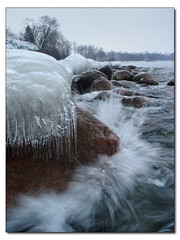 Frozen In Time (::| R(c) Photography |::) Tags: lake ontario beach by photography perfect photographer durham ricardo soe cardoso pickering the eyesopen naturesfinest blueribbonwinner flickrsbest abigfave anawesomeshot aplusphoto flickrdiamond betterthangood theperfectphotographer