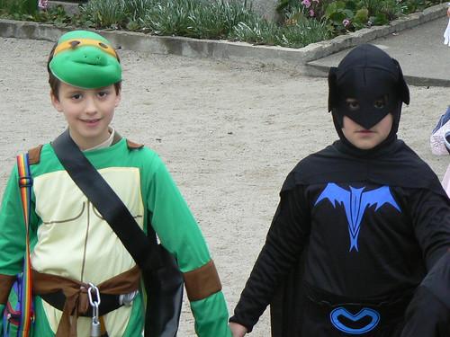 O Batman? Isto é só Super-Heróis....