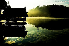 Reflection @ Pang Oung (Lemoned_i_scream) Tags: lake thailand view lanscape maehongson   platinumheartaward pangoung