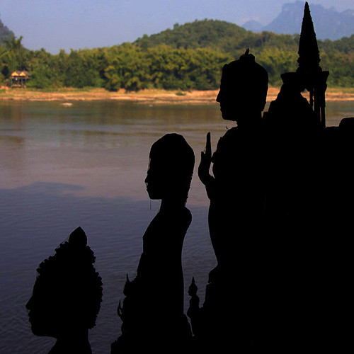 Standing by the river ((Luang Prabang, Laos)