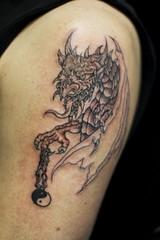 (Tanya in BNE) Tags: hk art broken beautiful tattoo hongkong pain kevin dragon skin suffering tat 2007 doyl myformerlife newtat feb2008 firsttat kevinstat