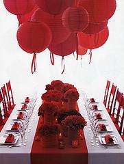 2275079795 327dacd302 m Baú de ideias: Casamento vermelho e branco