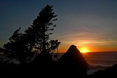 Heceta Head Seascape (Nick Boren Photography) Tags: sunset seascape oregon wonderful coast pacific northwest heceta anawesomeshot