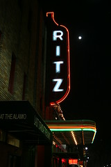 ritz theater sign