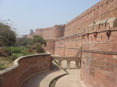 agra fort rampart