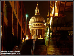 London Urban St Paul's Cathedral at Night (david gutierrez [ www.davidgutierrez.co.uk ]) Tags: night lights thames riverside cathedral stairs shadow theunforgettablepicture diamondclassphotographer stpauls londonurban millenniumbridge england flickrdiamond finepix s6000fd fujifilm s6500fd cities cityscapes building buildings fujifilmfinepixs6500fd bridges bridge architectural photography nights metropolis centre center municipality structure edifice nighttime darkness dark nightfall dusk topf100 100faves geotagged architektur spectacular impressive sensational londres londra photo image cites uk architecture london unitedkingdom cityscape urban travel arquitectura city