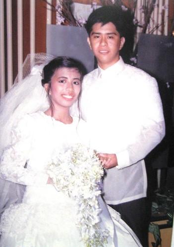 Happy 19th Wedding Anniversary sa aking mahal na esposo.