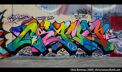 DRAMA DE (unaesthetic) Tags: california de graffiti oakland bay funk area graff piece burner drama wildstyle