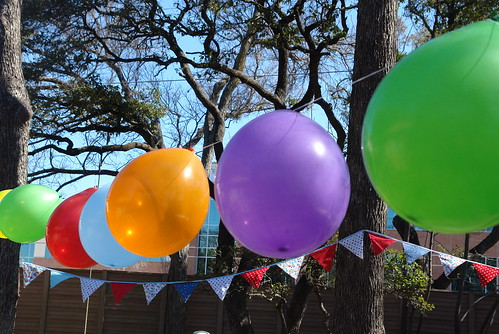 Bunting and Balloons