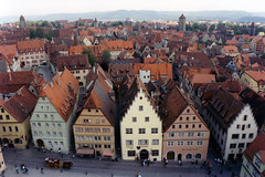 Rothenburg (Rathaus Tower view) (WVJazzman) Tags: germany rothenburgobdertauber romanticroad rathaustowerview