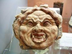 Etruscan Gorgoneion (diffendale) Tags: italy archaeology museum ceramic italia terracotta museo medusa umbria etruscan orvieto civico gorgon archeologico etrusco gorgoneion pleiades:findspot=413373
